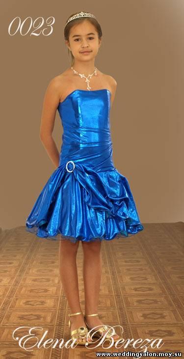 Фото платья вечерние для детей