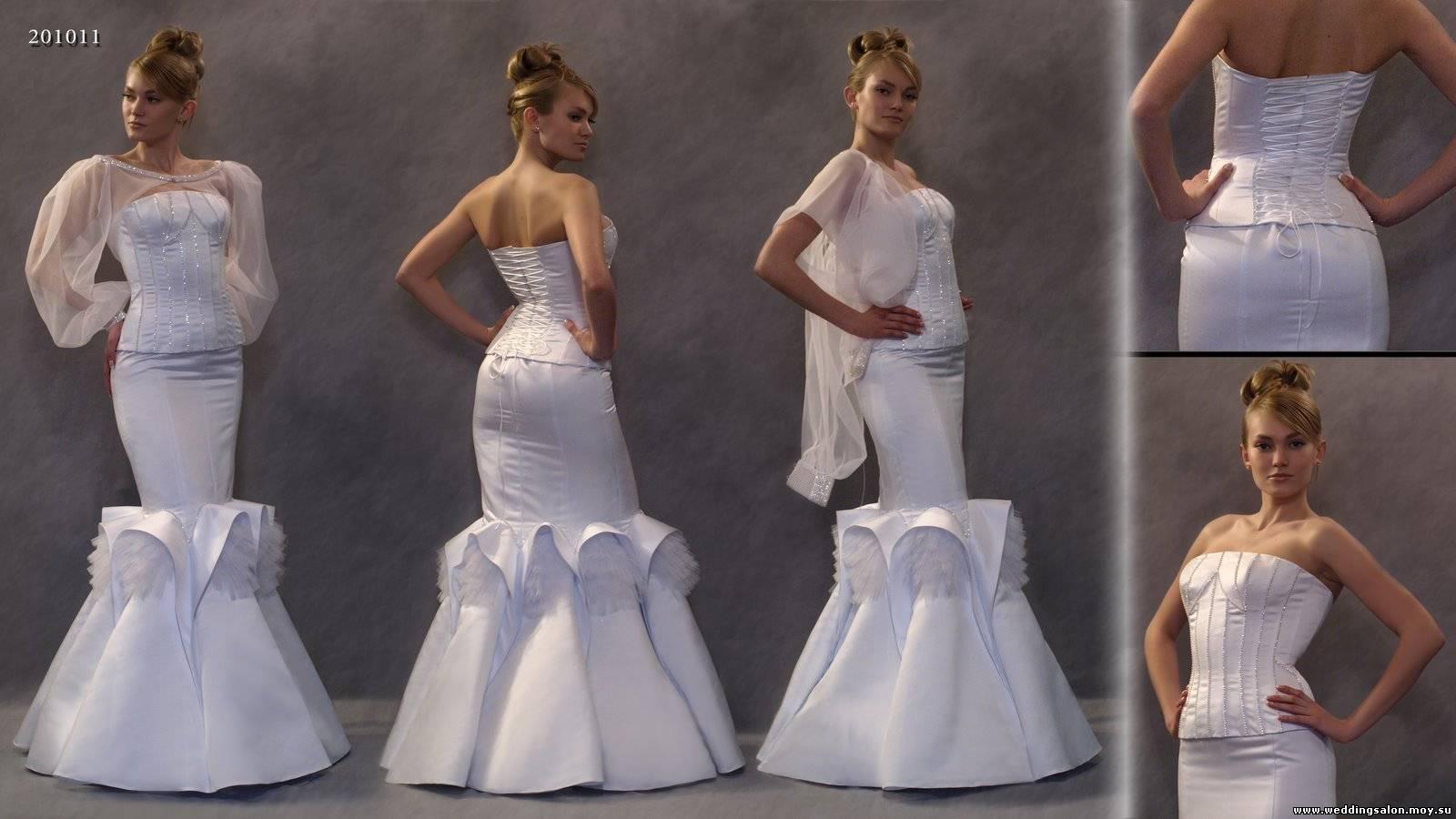Объявление: Свадебное платье Рыбка